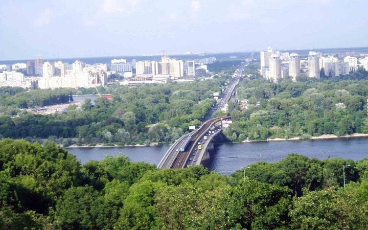 Достопримечательности Киева на Левом и Правом берегу