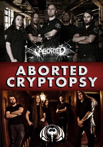 ABORTED и CRYPTOPSY. Концерт в Киеве