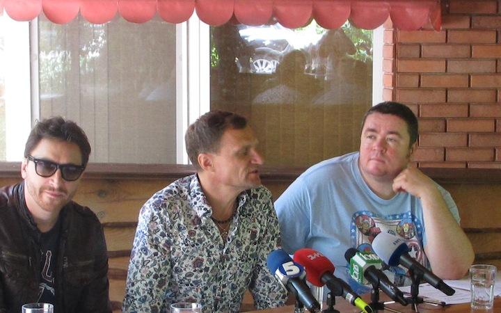 Пресс-конференция и толока на Трухановом