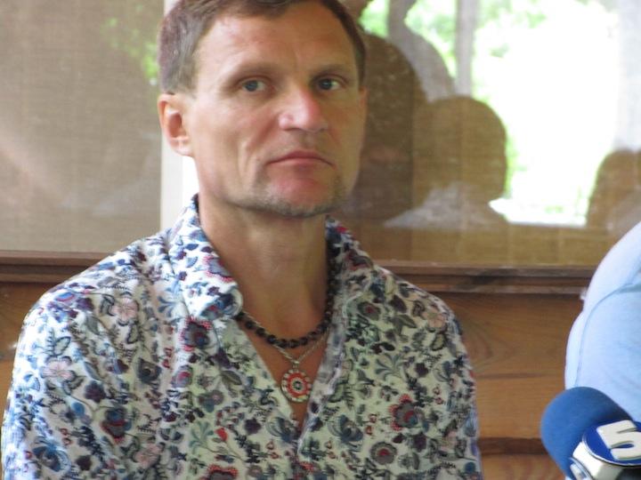 Пресс-конференция и толока на Трухановом острове