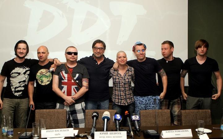 Юрий Шевчук и группа «ДДТ»