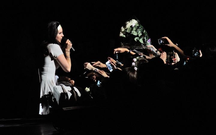 Отчет с концерта Lana Del Rey