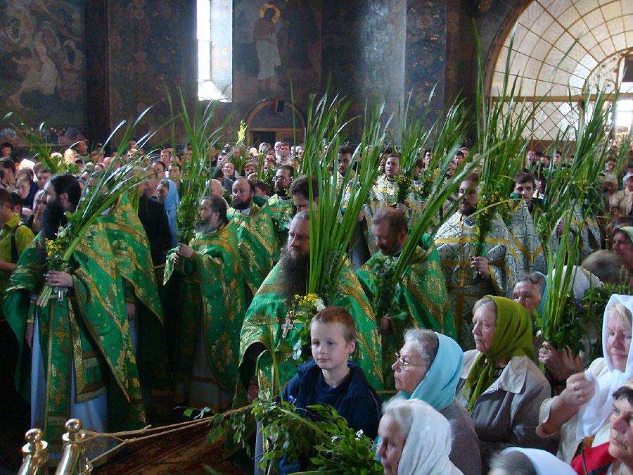 Мероприятия в Киеве на честь праздника Троица