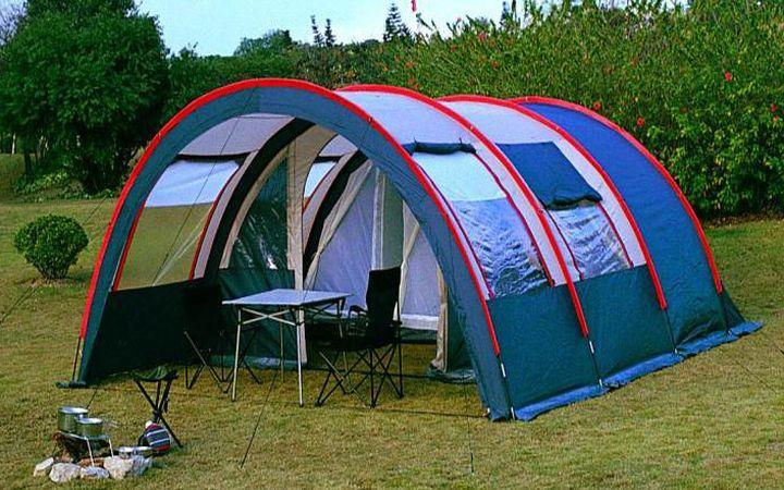 Как устанавливать палатку