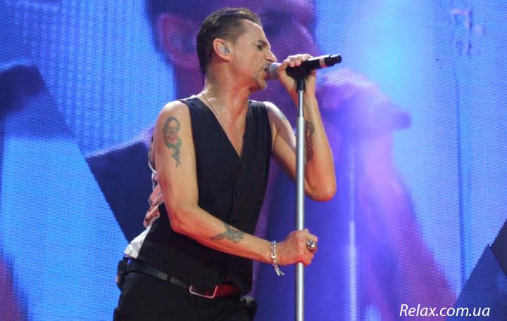 Depeche Mode концерт в Киеве 2013