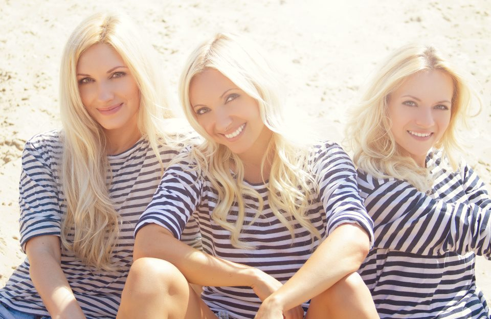 Три блондинки картинка