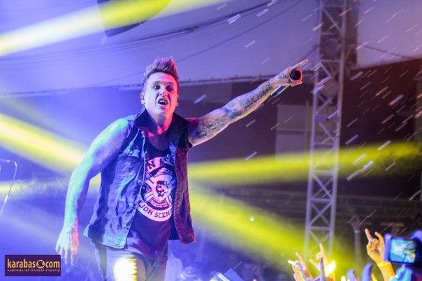 Papa Roach. Отчет с концерта в Киеве