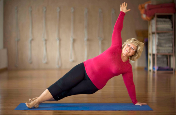 Йога поможет похудеть