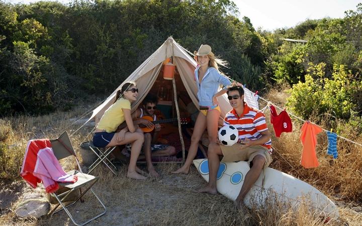 Идея на выходные: Выходные в палатке
