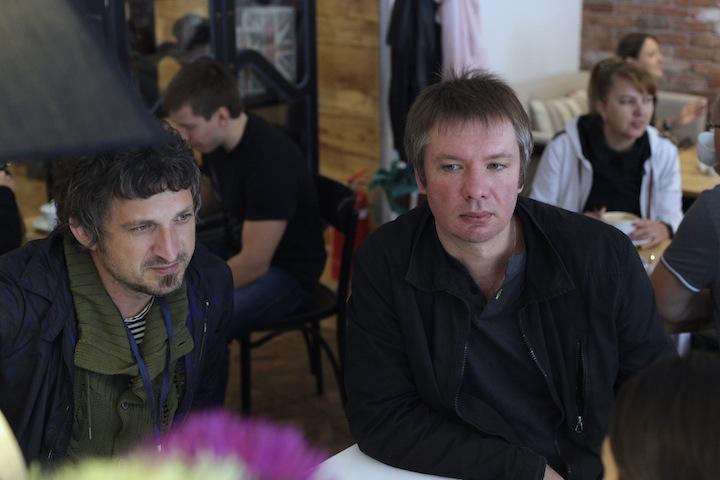Как отдыхают Владимир Ткаченко и Максим Кучеренко