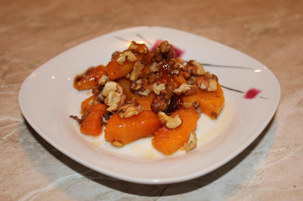 Рецепт запеченной тыквы