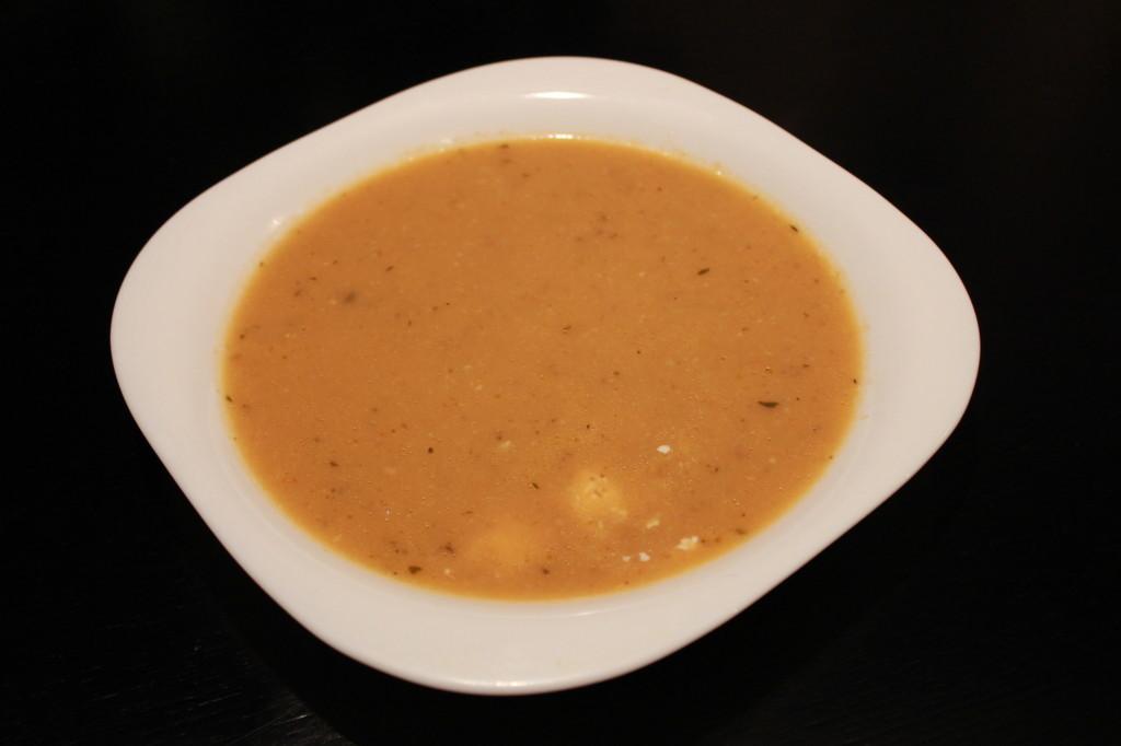 Как приготовить суп-пюре из запеченных баклажан и помидоров