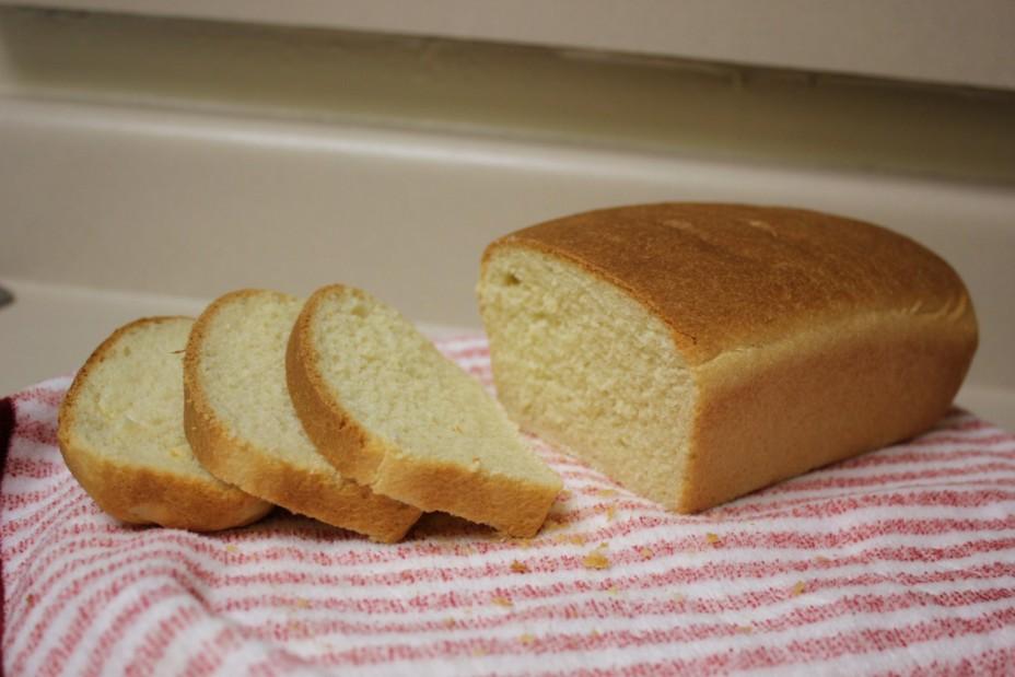 Первый рецепт. Белый хлеб