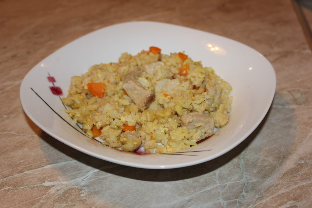 Как приготовить жареный рис со свининой