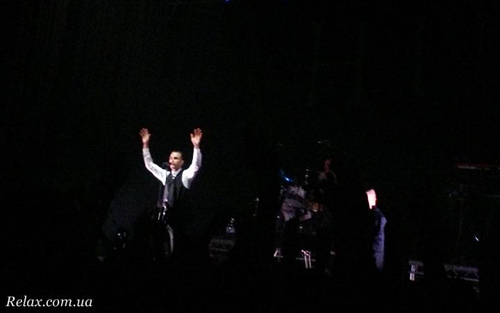 Отчет с концерта Hurts