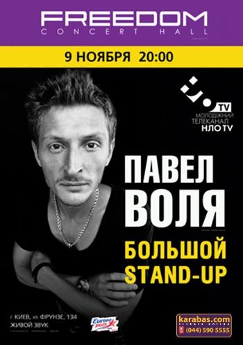 Павел Воля. Концерт в Киеве