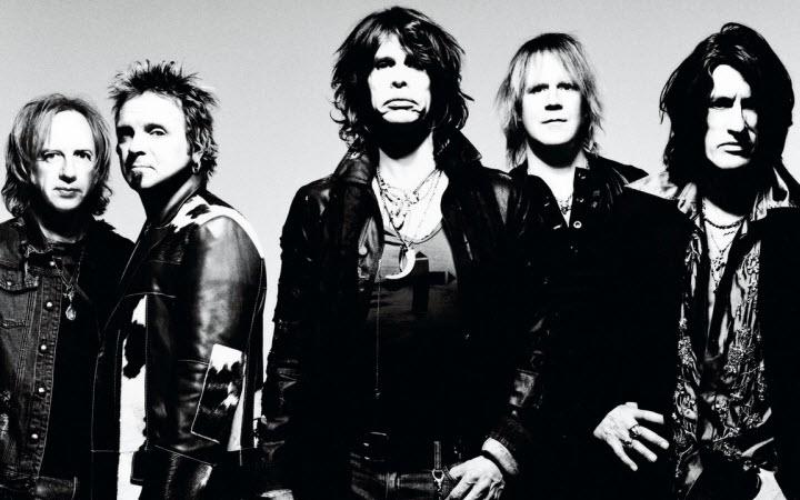Aerosmith отменил концерт в Киеве