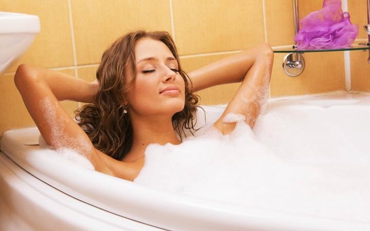 Принятие ванны с пользой для здоровья