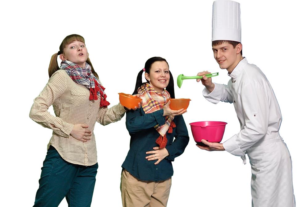Кулинарный поединок дома