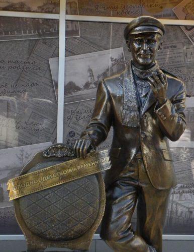 Открыт памятник Остапу Бендеру