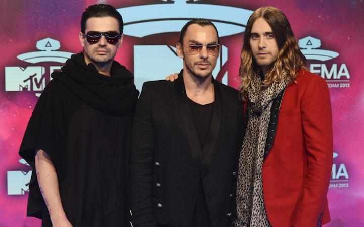 30 Seconds to Mars. Best Alternative Act. MTV