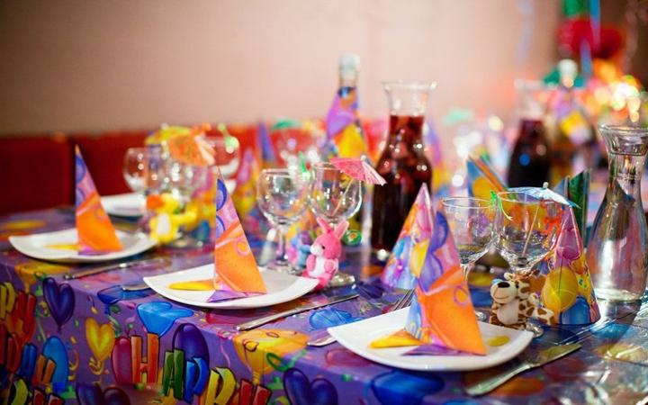 сервировка детского стола на день рождения фото