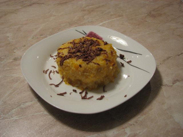 Рецепт тыквенно-рисового пудинга