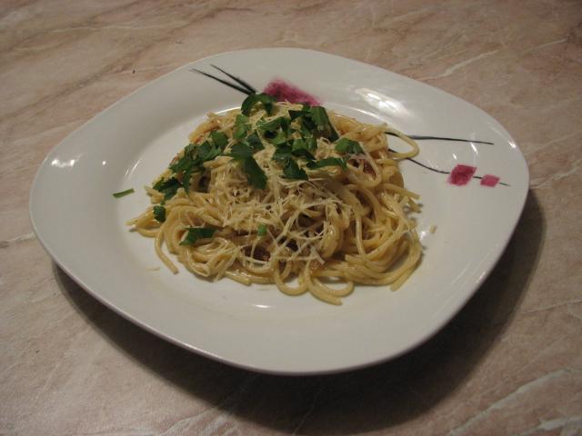 """Рецепт спагетти """"карбонара"""""""