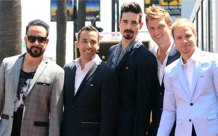 Backstreet Boys обнажились для своего нового клипа