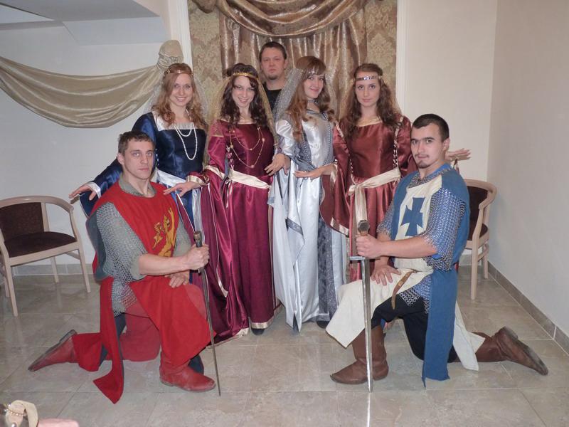 Вечеринка в стиле рыцарского средневековья