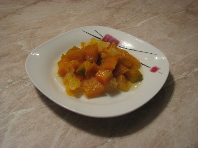 Рецепт тыквы в цитрусовой карамели