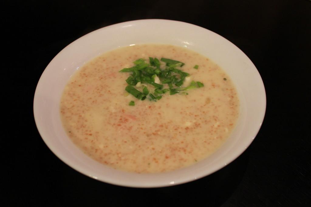 Рецепт пшенично-сырного супа
