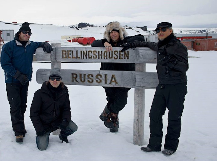 Metallica in Antarctica