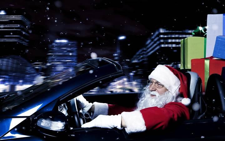 Новый год в машине