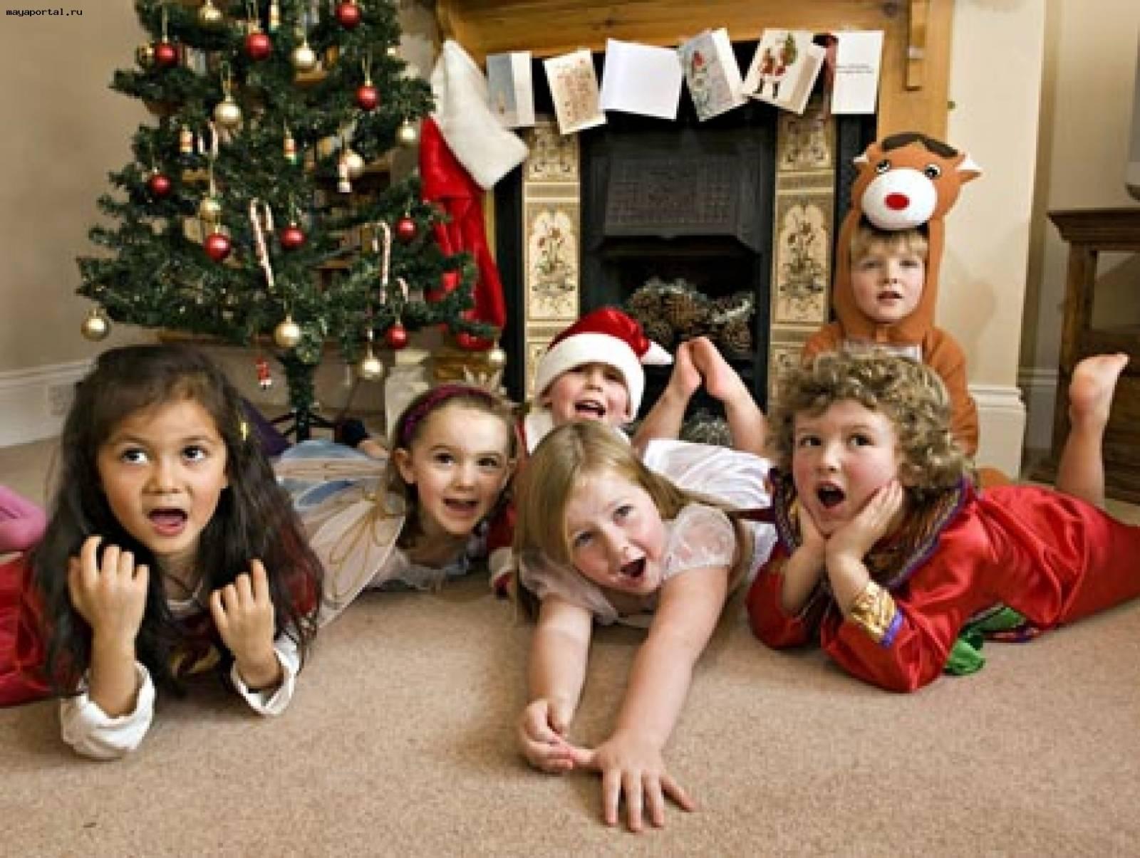 Маленькие конкурсы для детей в новый год