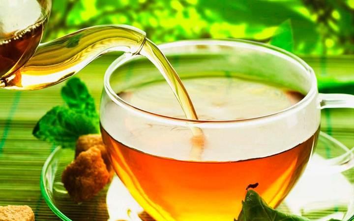 Травяной чай с имбирем