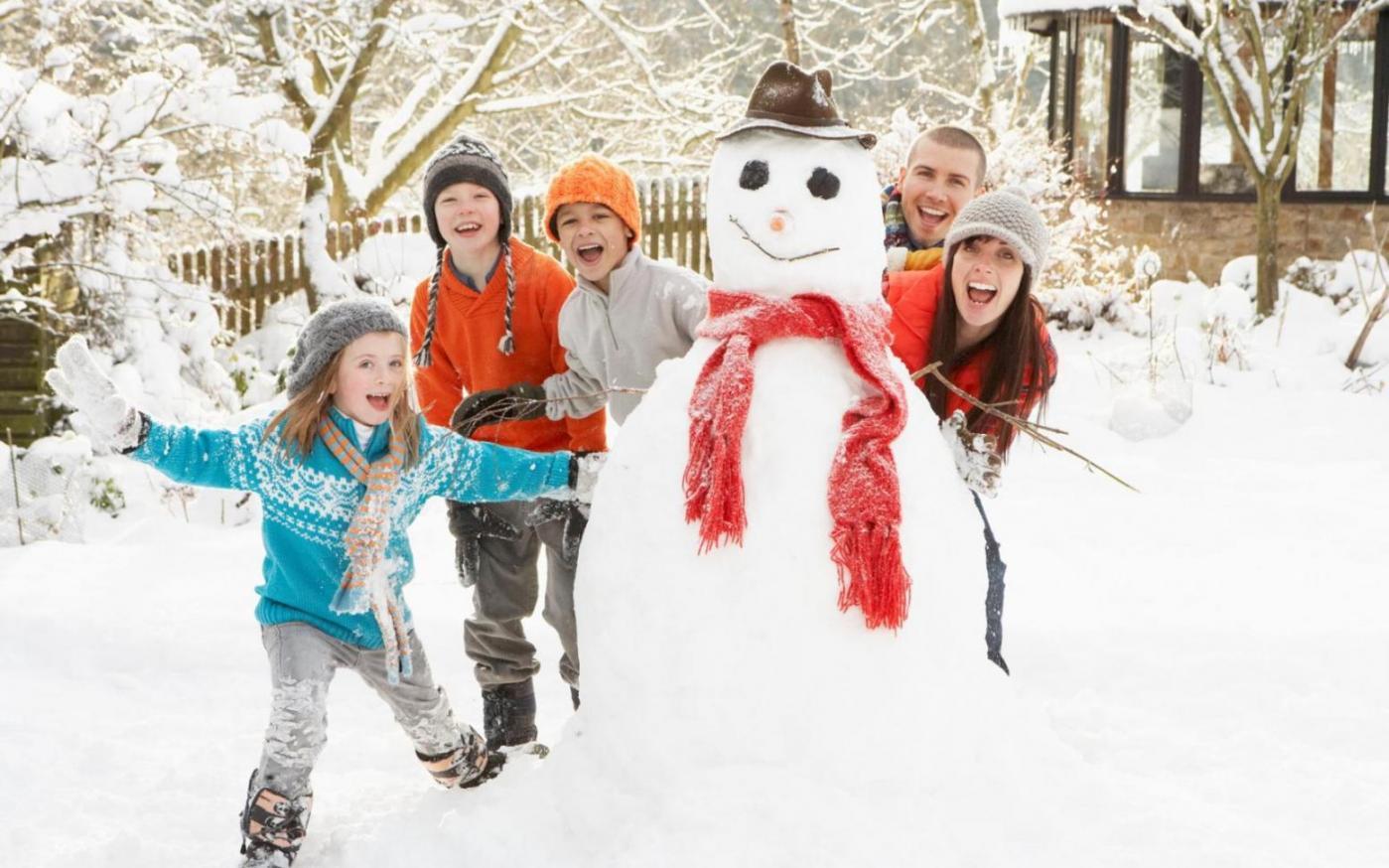 Отдых с детьми зимой