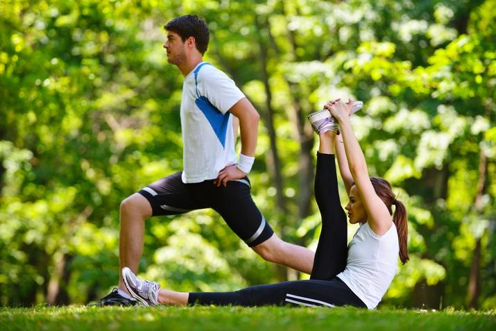 Как разогреться перед тренировкой?