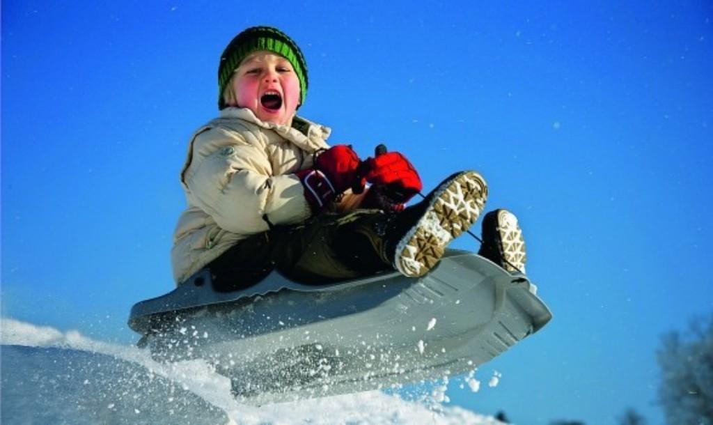 Отдых зимой с детьми