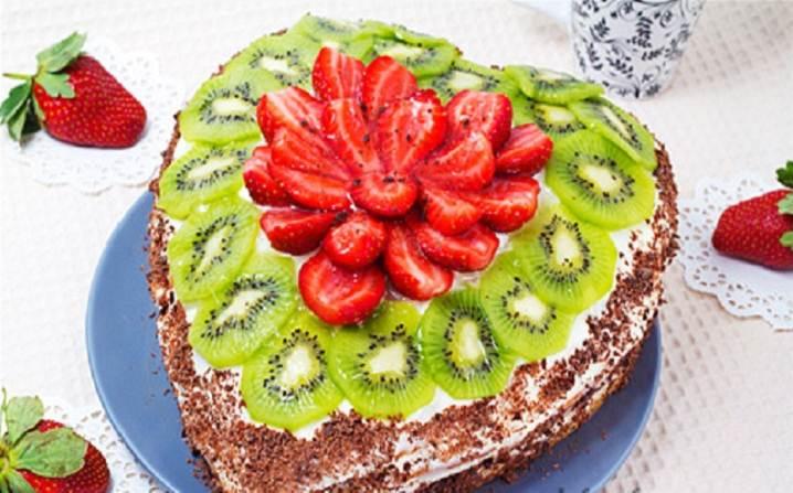 Торт-в-форме-сердца