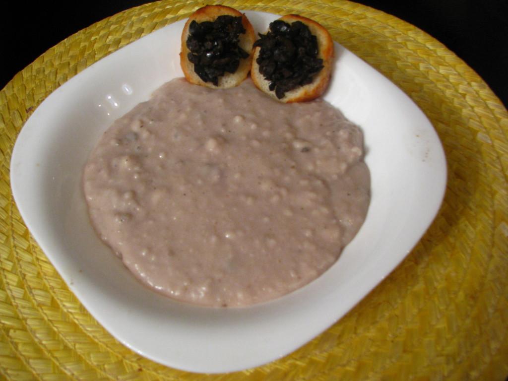 Рецепт чесночного супа с крутонами