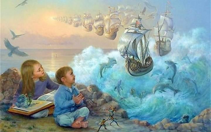 Дети умнеют от веры в чудеса