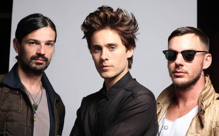 Изменилось место проведения концерта 30 Seconds to Mars