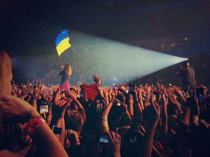 30 Seconds to Mars 12 марта 2014 Киев Фото