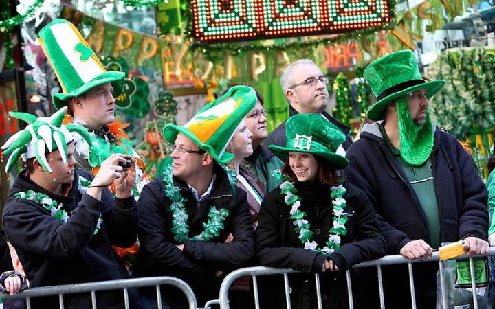 День святого Патрика - очень зеленый праздник