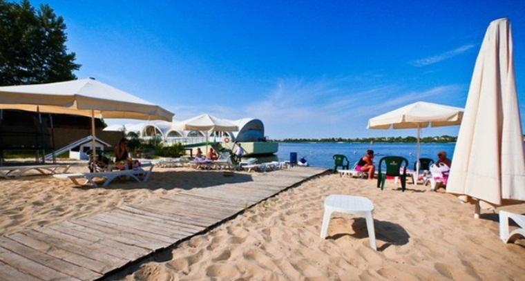 Пляж «Днепровская Ривьера»