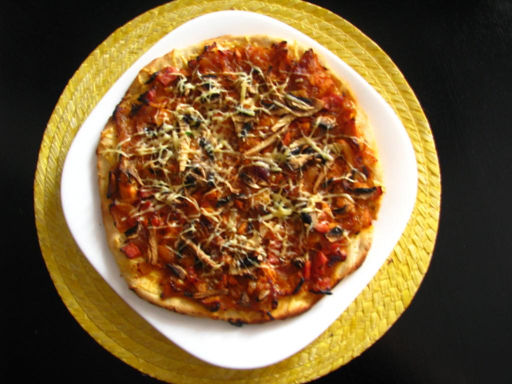 Рецепт луковой пиццы