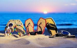 Пляж Лето