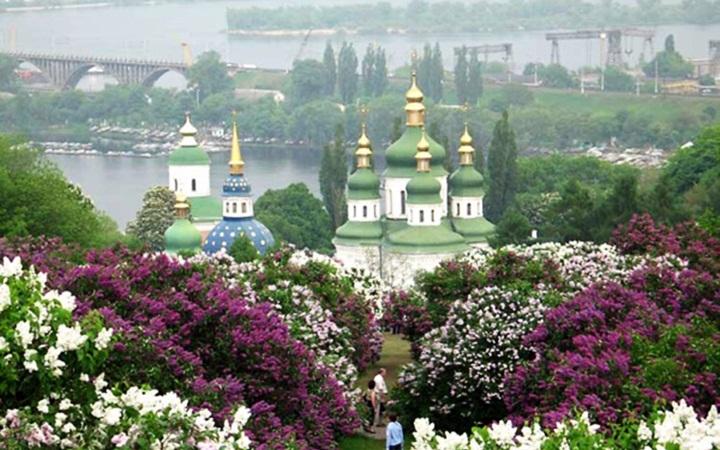 Весна 2014 в Ботанических садах Киева