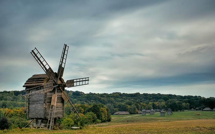 В Пирогово заработала столетняя мельница